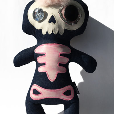 Skeletbamse Girly