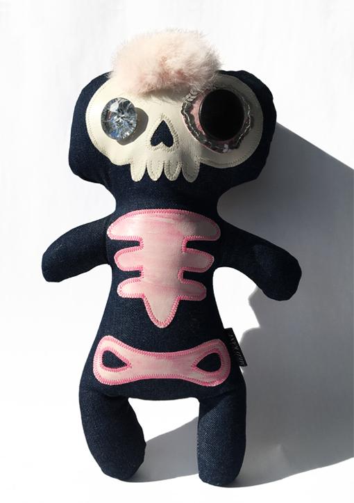 Skeletbamse Girly